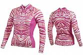Shebeest Womens Bellissima Tigress Long Sleeve Jersey