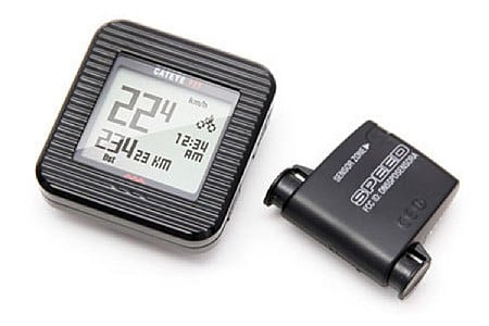 Cat Eye Fit Cyclecomputer/Pedometer CC-PD100W