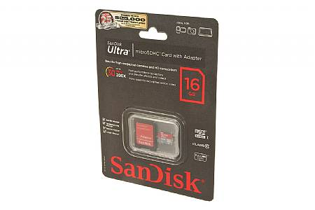 SanDisk Ultra 16GB Micro SD Memory Card