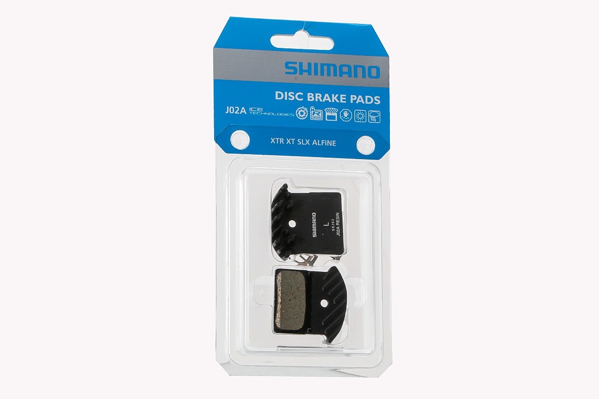 Finned Resin Aluminum Backed Shimano L03A Resin Disc Brake Pads